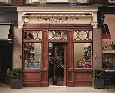 Haynes Hanson & Clark shopfront